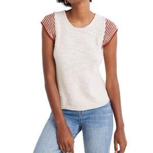 Madewell Kimble Stripe Sleeve Sweater